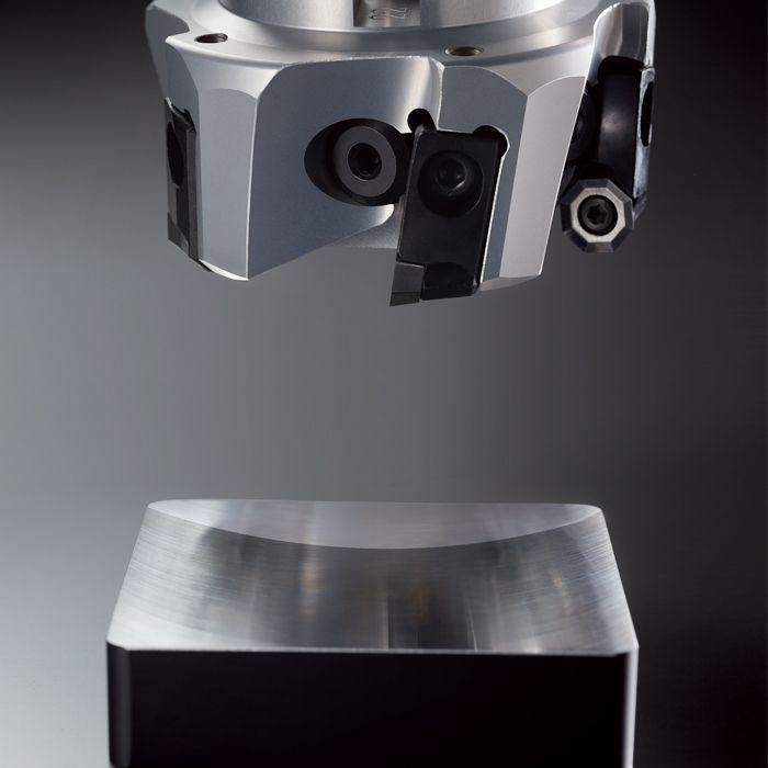 Fresa frontal de aleación de aluminio.