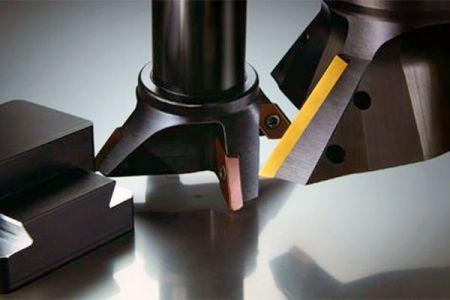 Serie de cortadores de fresado de aluminio / cola de milano indexables - Serie de fresas de cola de milano / aluminio