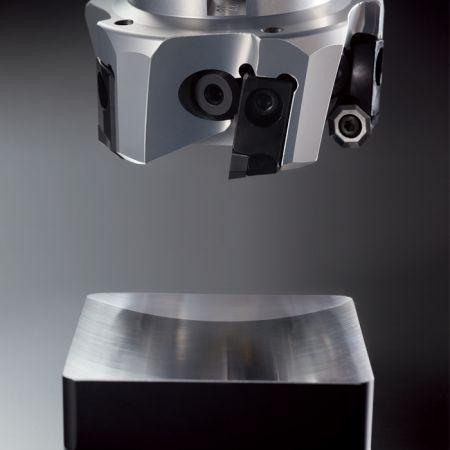 Fresa frontal de aleación de aluminio - Fresa frontal de aleación de aluminio.