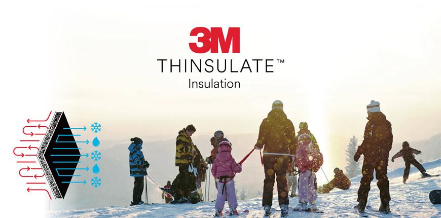 3M™ 新雪麗™ 保溫棉具有優異的保暖效能,可有效協助捕抓與保留身體的熱能,具有良好透氣性,可廣泛應用於鞋子、成衣與配件中。