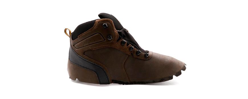 Aspect cireux Utilisé pour la tige de la chaussure, l'empeigne et l'embout.