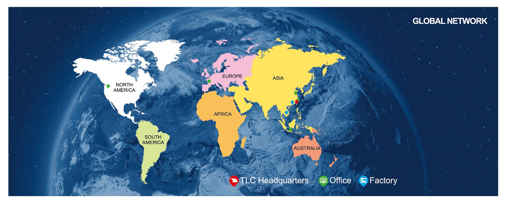 Service mondial Livraison locale.