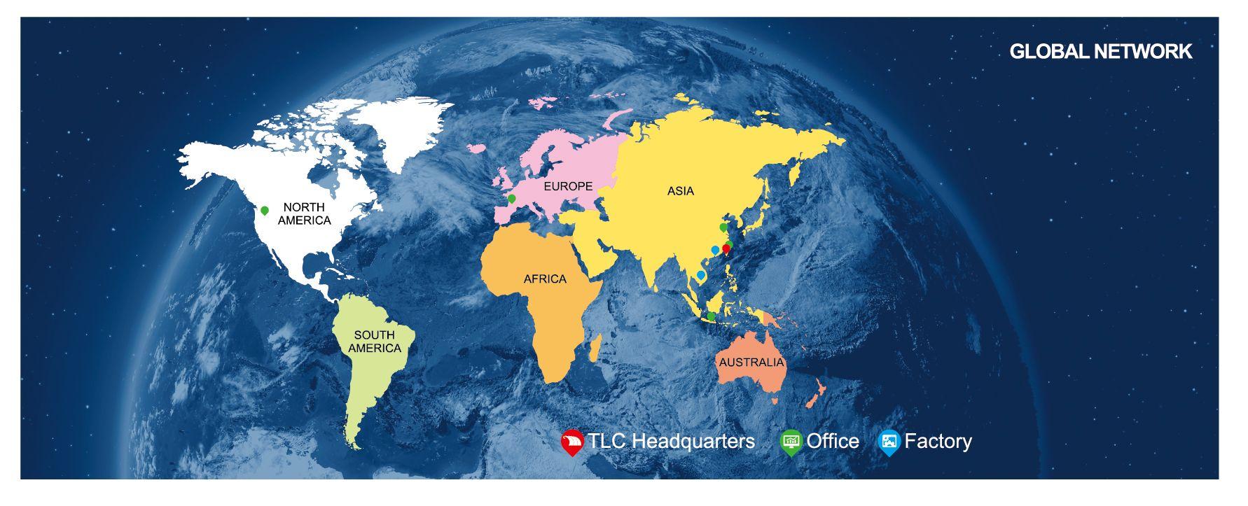 Globaler Service Lokale Lieferung.