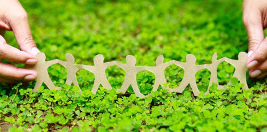 지속 가능성은 Tiong Liong이 친환경 소재를 개발한다는 개념입니다.