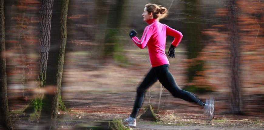 Même si vous faites de l'exercice, X-STATIC® vous permet de vous sentir à l'aise et frais.