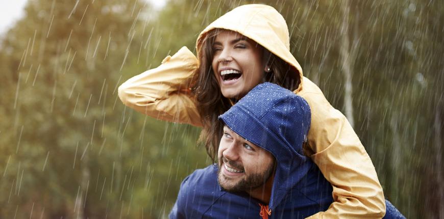 Waterproof material is good to be used on footwear.