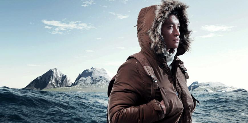PrimaLoft® 일사 직물을 착용하면 따뜻하고 편안합니다.