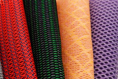Tricot et tissu tissé