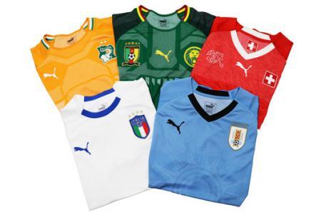 2018 FIFA 월드컵 유니폼 디자인.