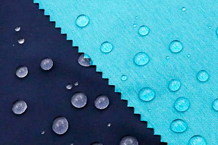 Waterproof lamination package keeps sweat moisture vaporing out and resisting water in.