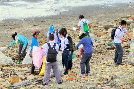Limpiar la playa