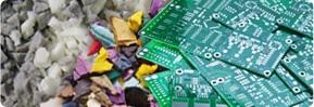 مواد إعادة التدوير البيئية