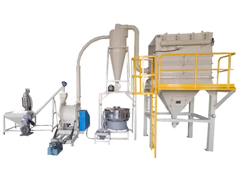 Agar Agar, Carrageen, Grinding System / TM-600