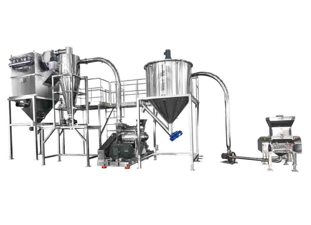 Bromelain Crushing & Grinding System / TM-800 & CCM-520