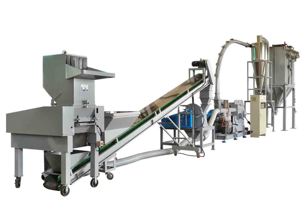 PCB, IC Board, Environmental Material Crushing Grinding System / TM-600 & CCM-524