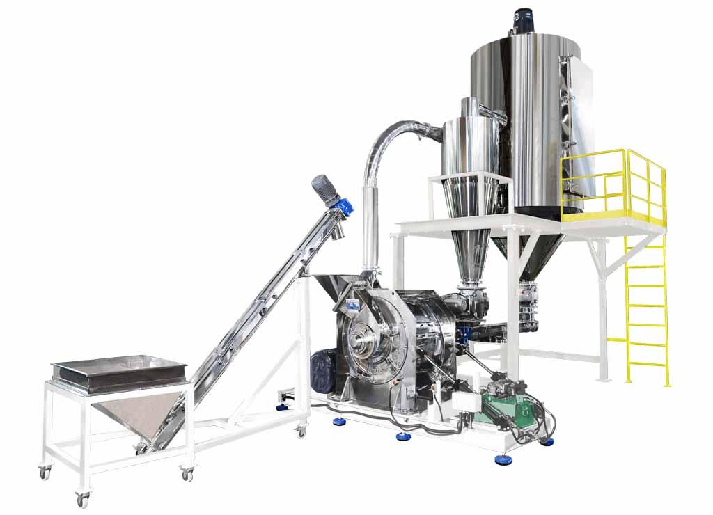 Система измельчения зерна, фасоли, сахара, пищевых продуктов / TM-1000
