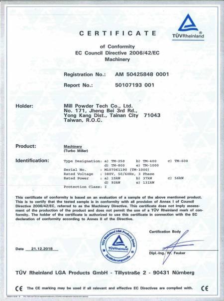Turbo Mill-CE: 50107193-001