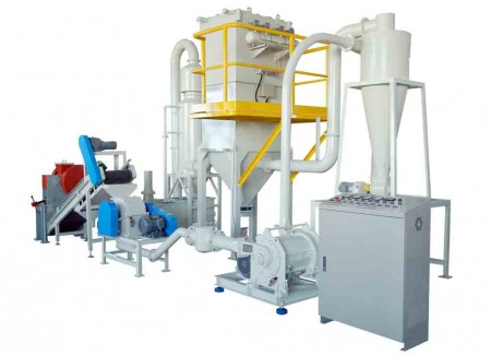 Système de broyage de matériaux appliqués