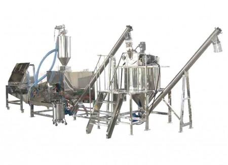 Système de mélange de produits chimiques et détergents