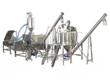 نظام خلط المواد الكيميائية والمنظفات