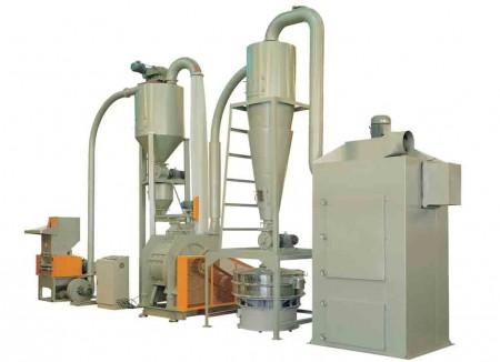 EVA、プラスチック、靴材料、PCB、IC基板、応用材料のリサイクリングシステム