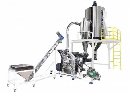 穀類、 豆類、 砂糖、 食品関係 研削システム/ TM-800