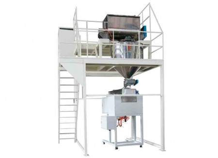 Hệ thống trộn, lưu trữ, cân và vắt sữa bột