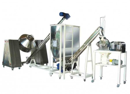 Mixing And Lump-Chopping System