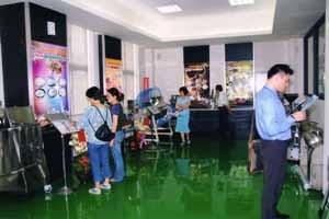 Exhibiting center of Pulverizer& Grinder machinery