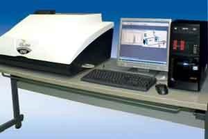 Ukuran partikel laser profesional / Penganalisis Kehalusan