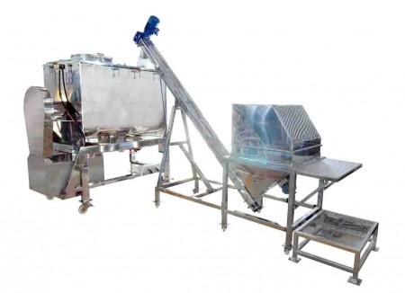 リボン混合システム