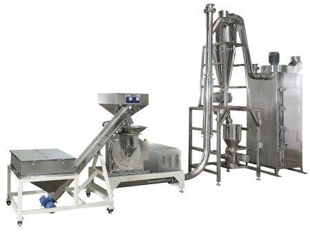 Système de broyage de sucre, d'épices et de produits alimentaires