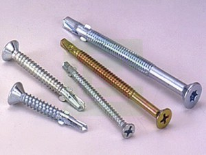Self Drilling Screws with Wings (Timber to Steel)