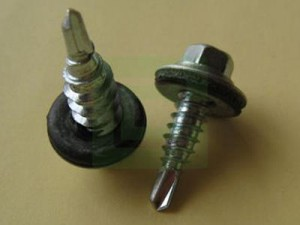 Self-Drilling Screws with Dacrotized Finish