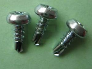 Selvborende skruer Pan rammehoved - Selvborende skruer med panrammehoved