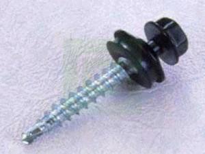 Tagskrue - Tagskruer med pulverlakeret hoved