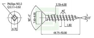 Chipboard Skrue - Chipboard Skrue