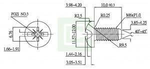 برغي الآلة (BS 4183) - برغي الآلة (BS 4183)