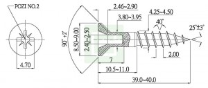 Supa Chipboard Screw - Supa Chipboard Screw