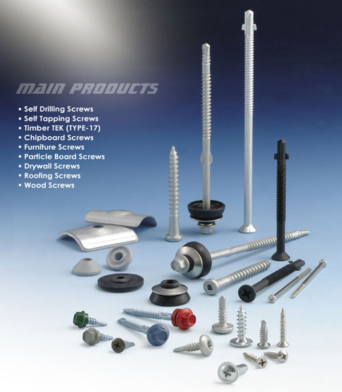 An excellent Taiwan-based screw manufacturer