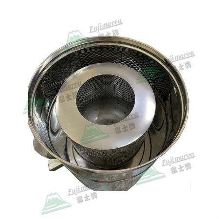 脫漿機不鏽鋼內槽 (分為可拆式及固定式)