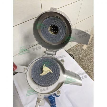 Aluminum Rice Grinder Parts Inside