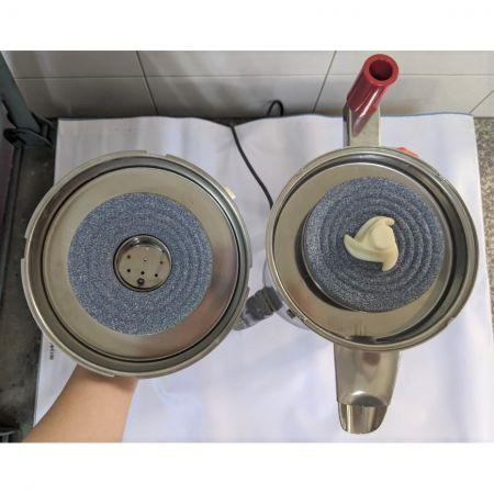 Meule de broyeur de riz en acier inoxydable