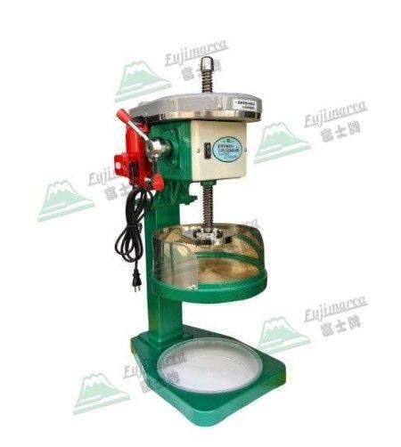 電動皮帶式刨冰機 - 剉清冰專用 - 台式刨冰專用,削切順暢、出口不卡冰。