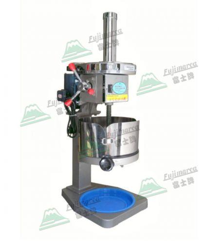 ماكينة حلاقة الثلج الكهربائية التجارية - ضد الغبار - الباب الإضافي يمنع تناثر السوائل.
