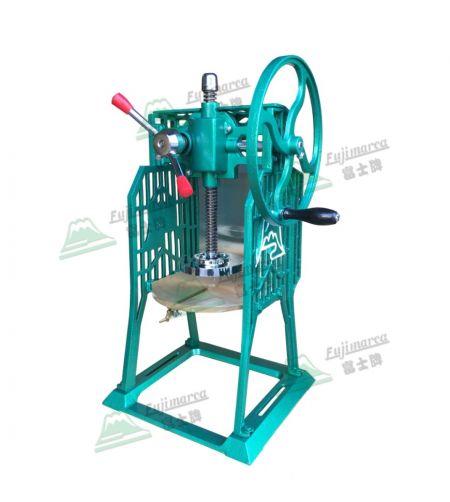 Afeitadora de hielo manual - Manual de trituradora de hielo comercial