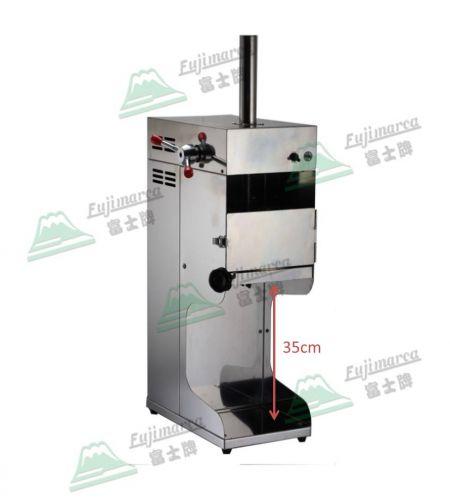 Afeitadora de hielo de bloque eléctrico de acero inoxidable - Afeitadora de hielo de acero inoxidable
