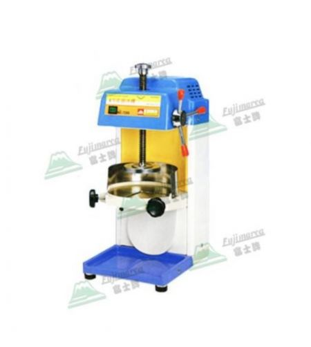 專利微調塑鋼刨冰機 - 塑鋼雪花刨冰機,馬達不外露。