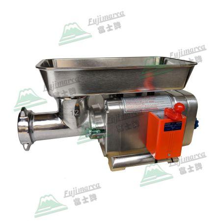 電動絞肉機 - 1/2Hp, 3/4Hp, 1Hp - 菜市場肉攤代客絞肉必備機型。