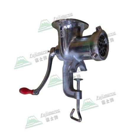 手搖絞肉機 (鑄鐵) - 鑄鐵手動絞肉機,可處理魚餌、狗食。